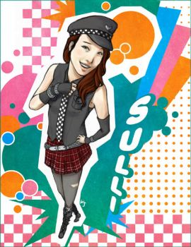 WILDCOLOR Sulli by WILDBEAT-fx