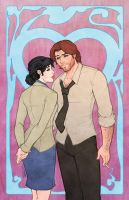 Bigby and Snow Valentine by DStPierre