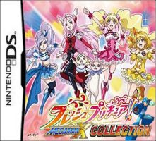 Fresh Precure and Megaman X DS by isaacyeap