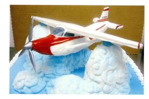 Airplane cake by The-EvIl-Plankton