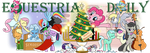 Happy Holidays Equestria Daily by SouthParkTaoist