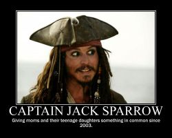 Capatian Jack Sparrow by GarnetWings