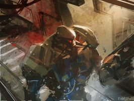 Gardien by Pierrick