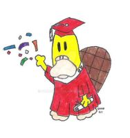 Graduation Polly by toadking07