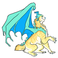Bobtail Dragoness by Possly