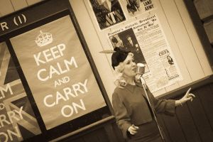 Keep Calm and Carry On by carlsilver