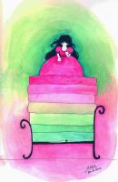 The princess and the pea by memifolk
