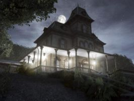 Phantom Manor 3D Old Exterior by phantommanor3d