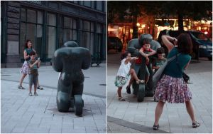Fun with... statues. by nari-me