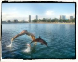 Swims With The Fishes by mdandree