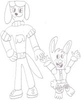 KH Brandy and Mr. Whiskers by jacobyel