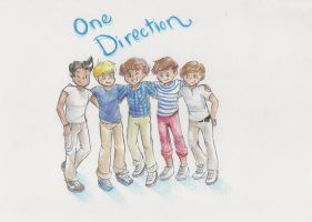 One Direction by monkeycrazyness