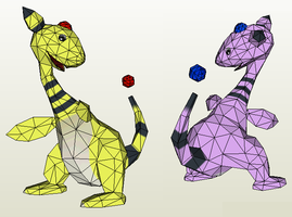 Papercraft - Ampharos by Jyxxie