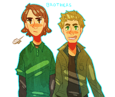 brothers by naydeity