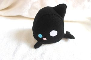 Killer Whale Plush by PinkChocolate14