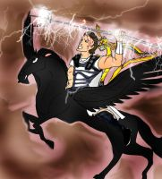 WOTT Tak with Perseus and Pegasus by Selinelle