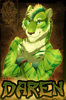 Badge Comish - Daren by TwilightSaint