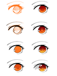 Step by Step Eye Tutorial by reiitan