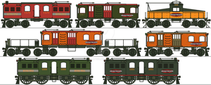 MFSC Early Electric Locomotives by Lapeer