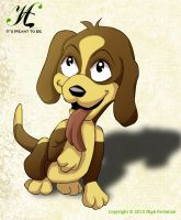 Cute Puppy by HighEvolution