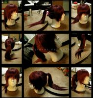 Wig Styling - Himura Kenshin by Rociel-Redgraves