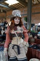 Steampunk female MADhatter by MADmoiselleMeli