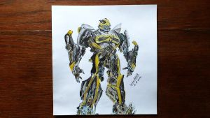Transformers Age of Extinction - Bumblebee by damianzielinski