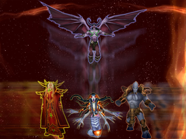 WoW: TBC HLI bosses by Egamocset