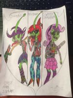 my little pony Cutie mark invaders colored by TristanMendez