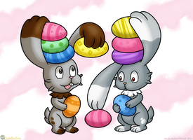 Bunnelby Easter
