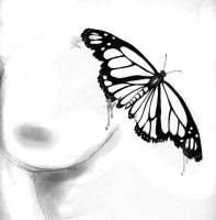 Butterfly Tattoo Design 1 by WesternWitch