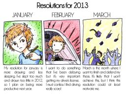 Resolutions for 2013 by Ruu-the-Dasher