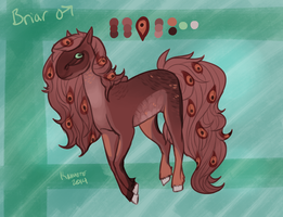 **Briar Reference Sheet by Kama-ItaeteXIII