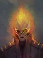 Ghost Rider by Craneoos