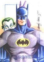 Batman and Joker by andypriceart