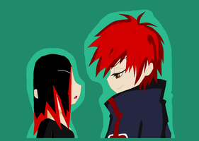 Himura and Sasori by yaoilover998