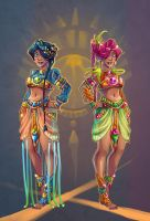 Sexy Aztecs by AndronicusVII