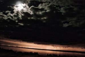 moonlight over the bay by inkygillies