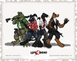 Left 4 Furries Wallpaper by Synwolf