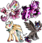 MLP: Commission: Jaegerpony Crew (x2) by Mychelle