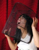 stock 632: caged scream by sophiaastock
