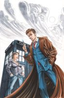 Doctor Who markers by cehnot