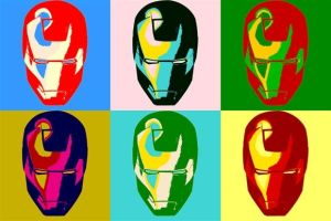 Iron Man Pop Art by TheGreatDevin