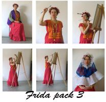 Frida pack 3 by LongStock