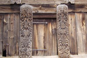 SWEDISH WOOD DOOR by isabelle13280