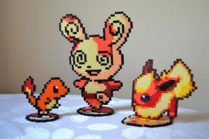 Perler Figures by lifextime