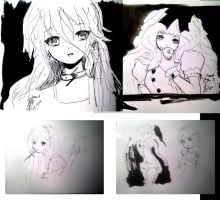 Anime Study 07d 12m 14y flexin my drawing muscles by anime-master-96