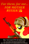 Apple Bloom: For mother russia by mercenario1945