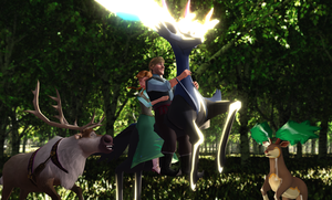 MMD Frozen-PKMN - The Call of the Wild by JackFrostOverland