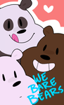 we bare bears by markclyde